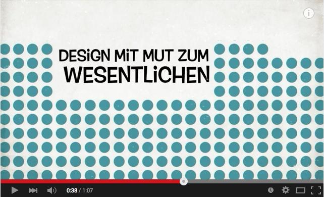 Videopräsentation des Gestaltungsbüros